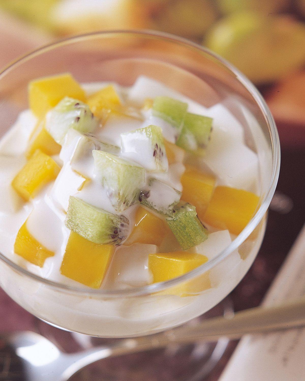 食譜:杏仁水果凍