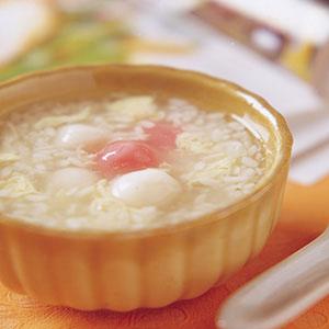 酒釀湯圓(1)