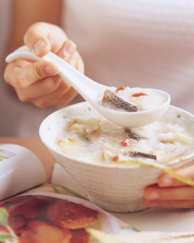 食譜:當歸虱目魚粥