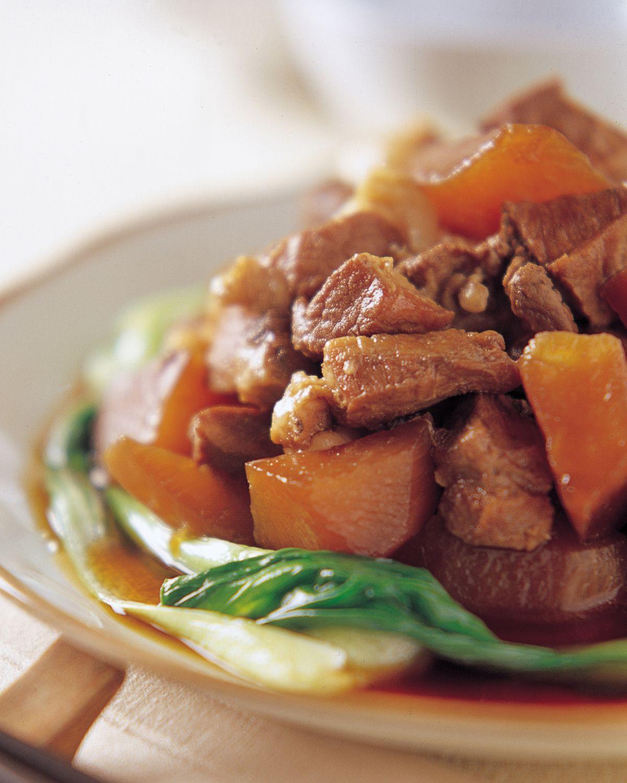 食譜:蘿蔔燒肉