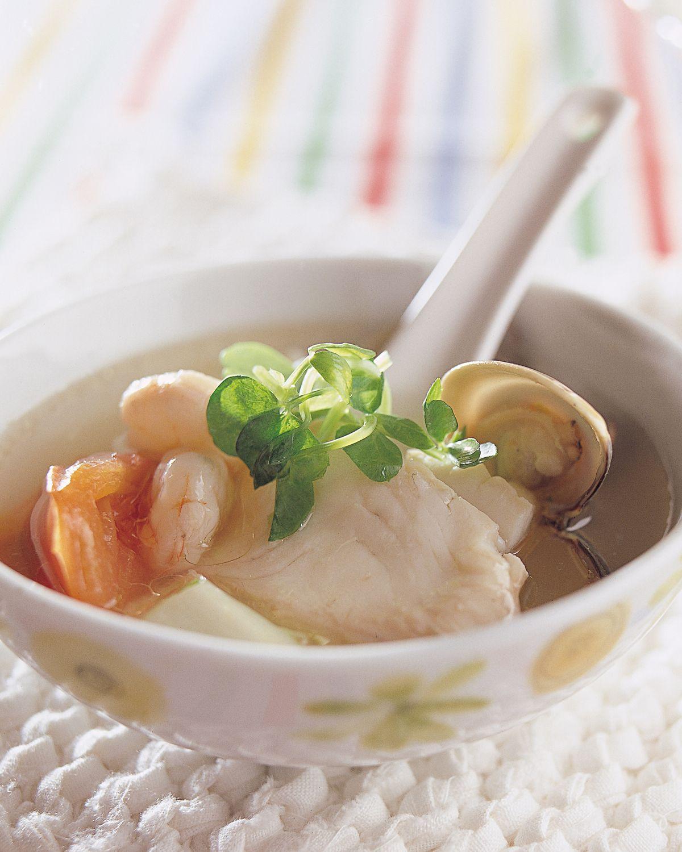 食譜:海鮮湯
