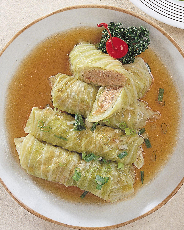 食譜:高麗菜肉卷
