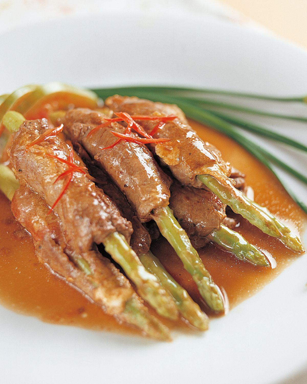 食譜:蘆筍牛肉卷