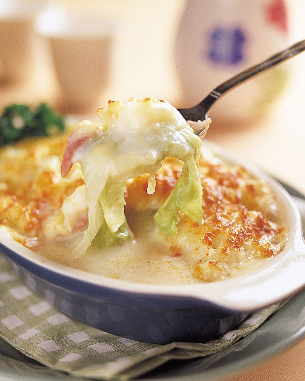 食譜:奶油烤白菜(1)