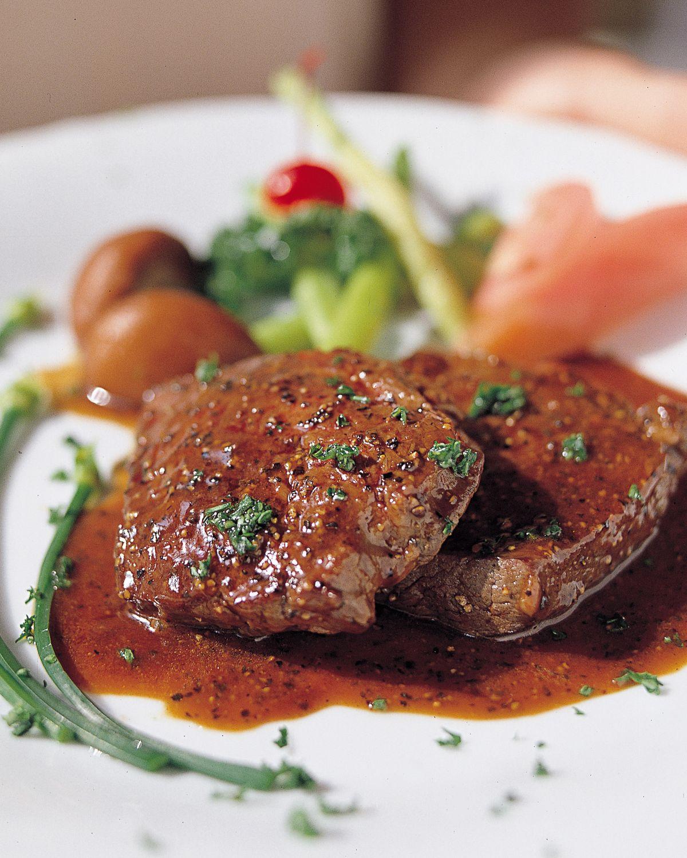 食譜:黑胡椒牛排