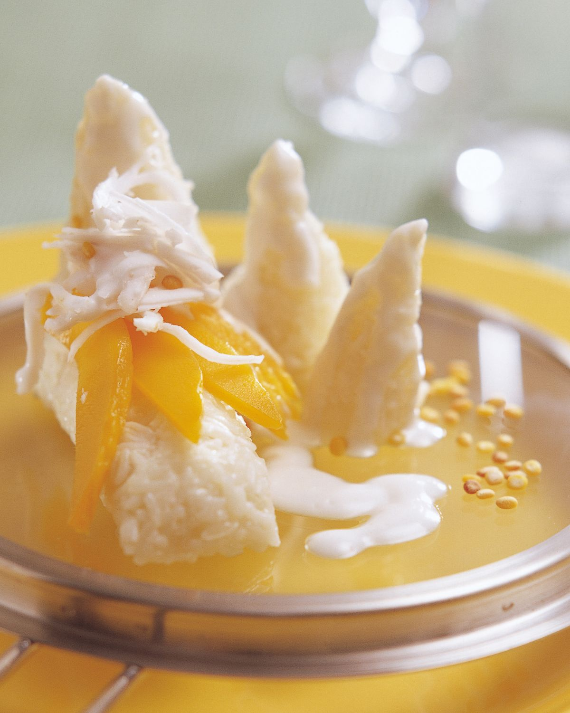 食譜:椰汁芒果飯