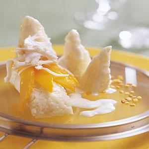 椰汁芒果飯