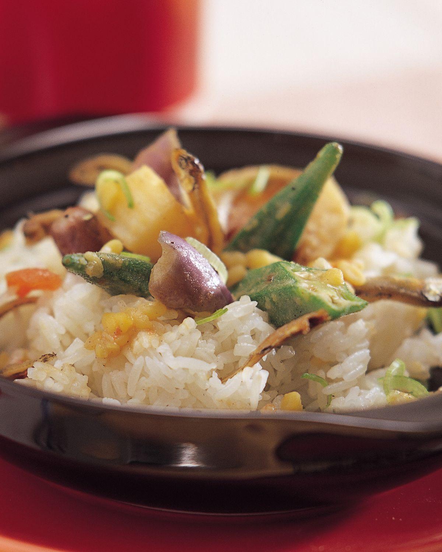 食譜:小魚乾拌飯