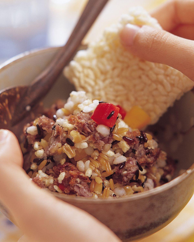 食譜:鍋粑飯
