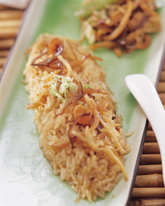 食譜:魷魚絲飯