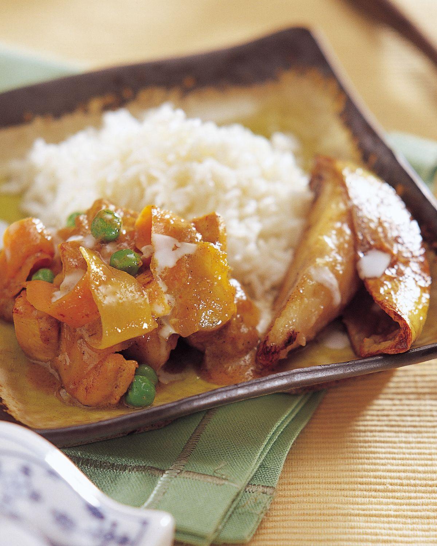 食譜:咖哩拌飯