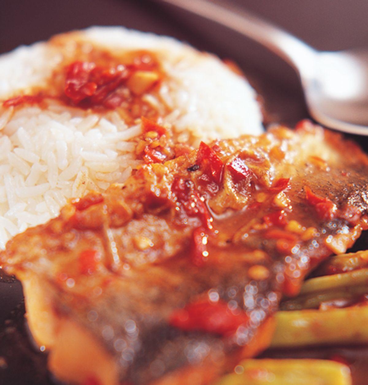 食譜:酸辣魚飯