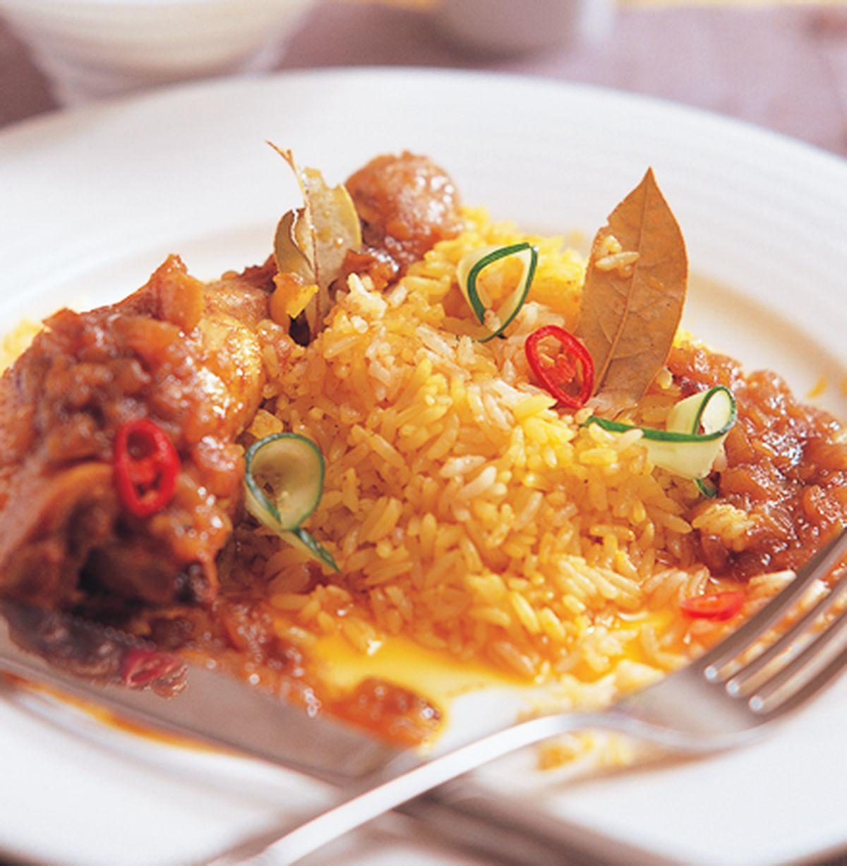 食譜:咖哩雞腿飯