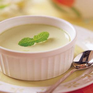 小黃瓜牛奶布丁