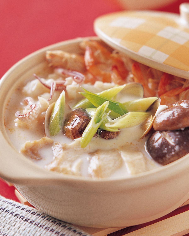食譜:牛奶火鍋