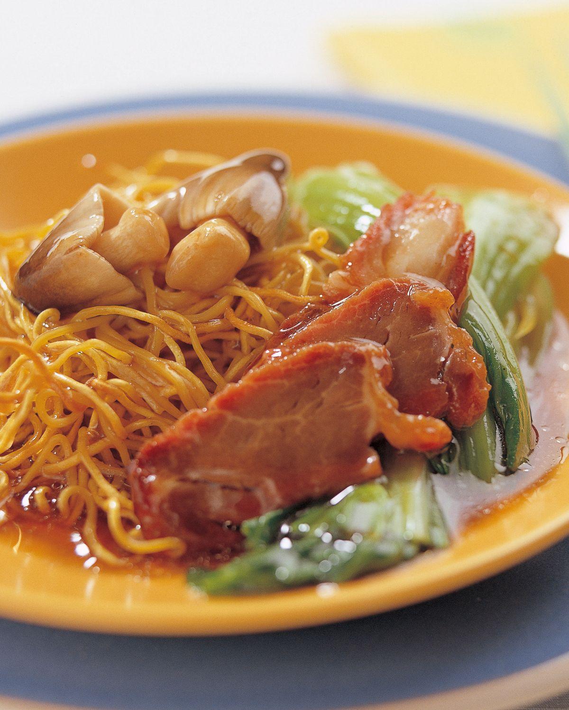 食譜:叉燒炒麵