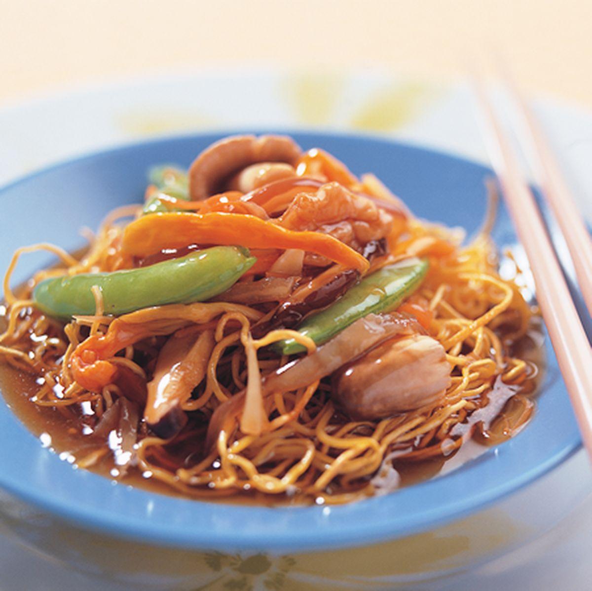 食譜:羅漢齋炒麵