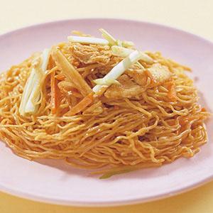 上海雞絲炒麵