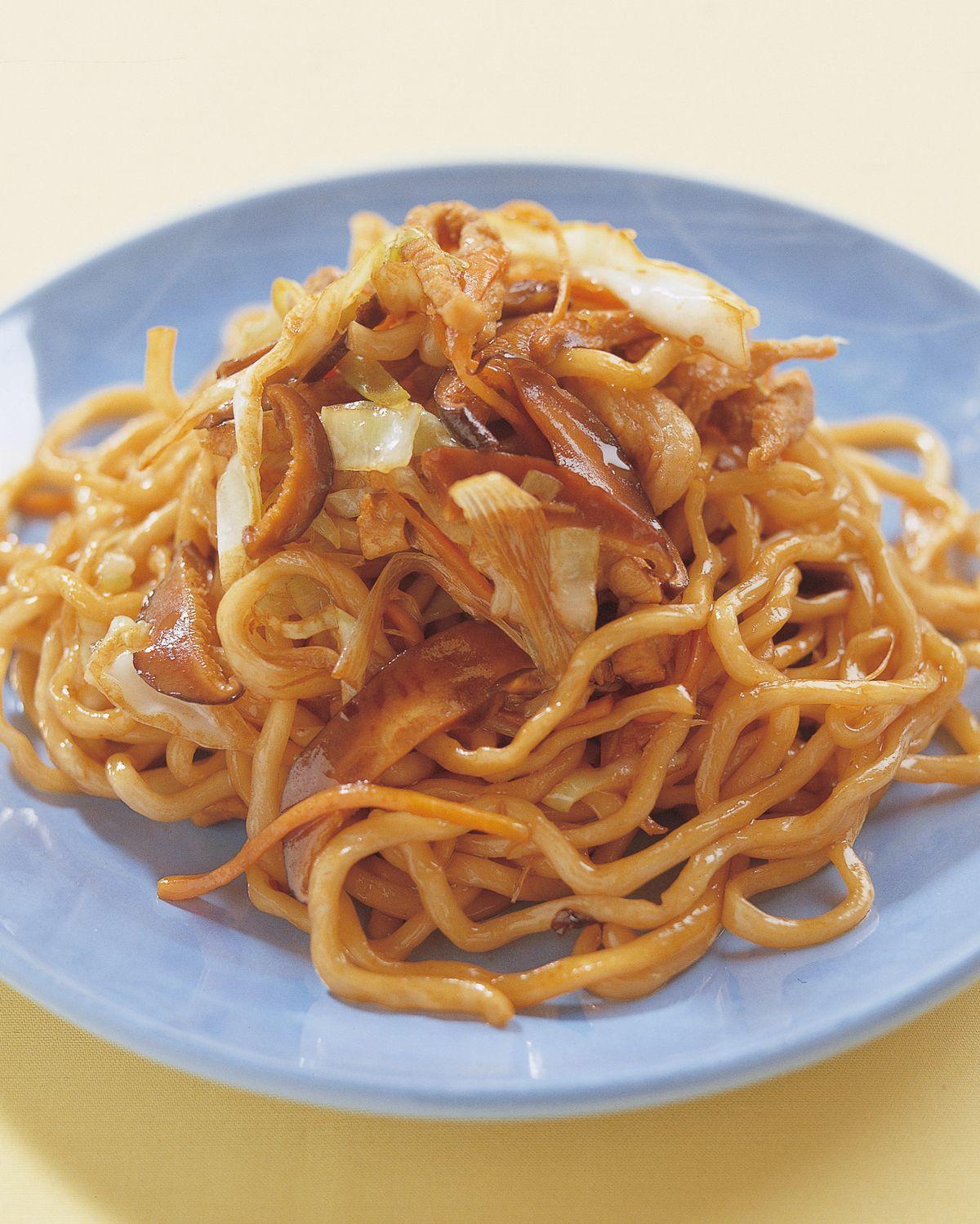 食譜:上海炒粗麵