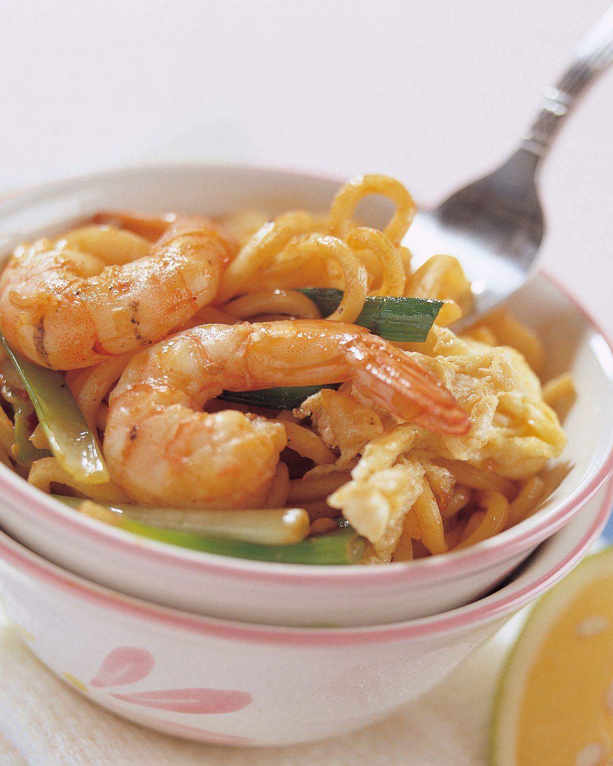 食譜:福建炒蝦麵