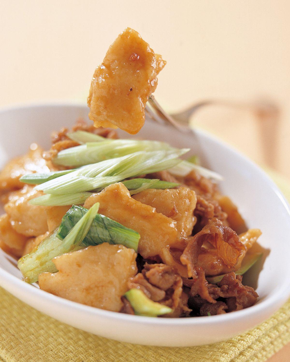 食譜:青海羊肉炒麵片