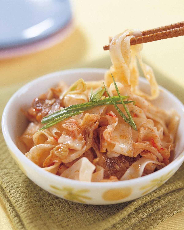 食譜:韓式泡菜炒麵