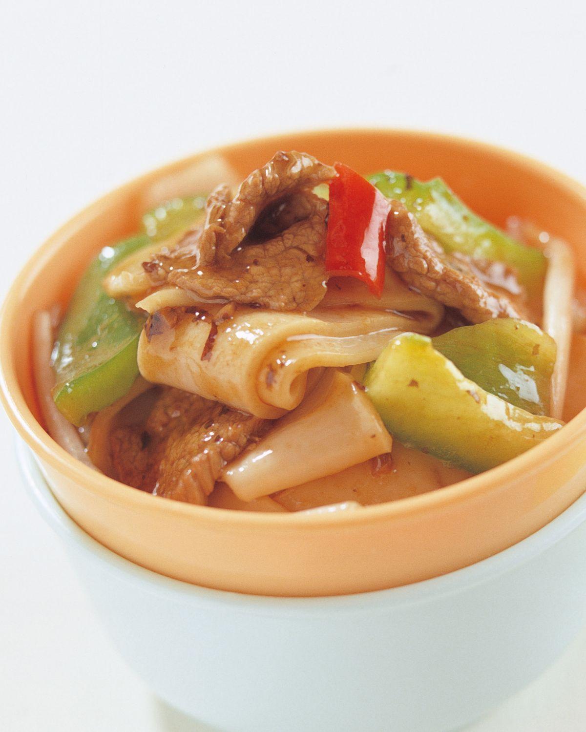 食譜:潮州豉椒牛河