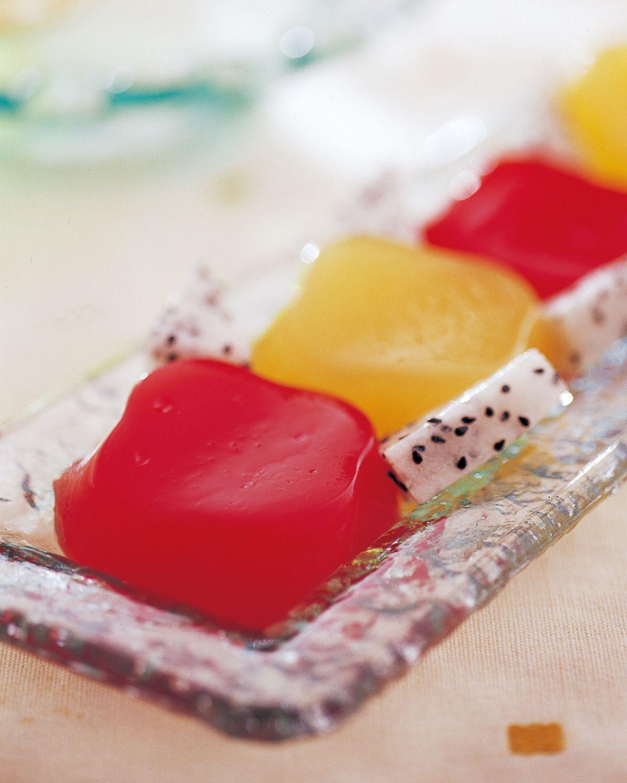 食譜:雙色西瓜果凍