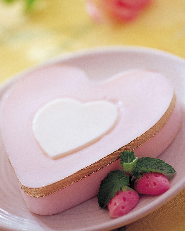 食譜:優格草苺果凍