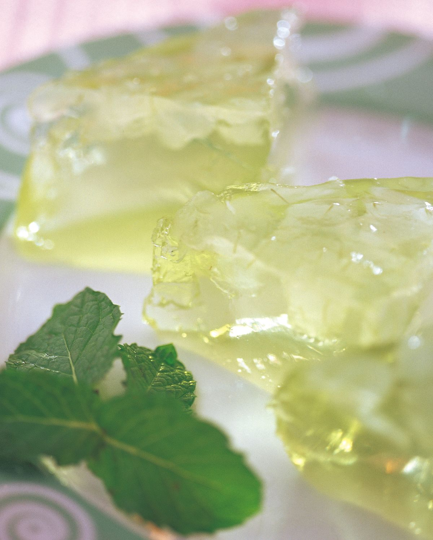 食譜:薄荷蘆薈果凍