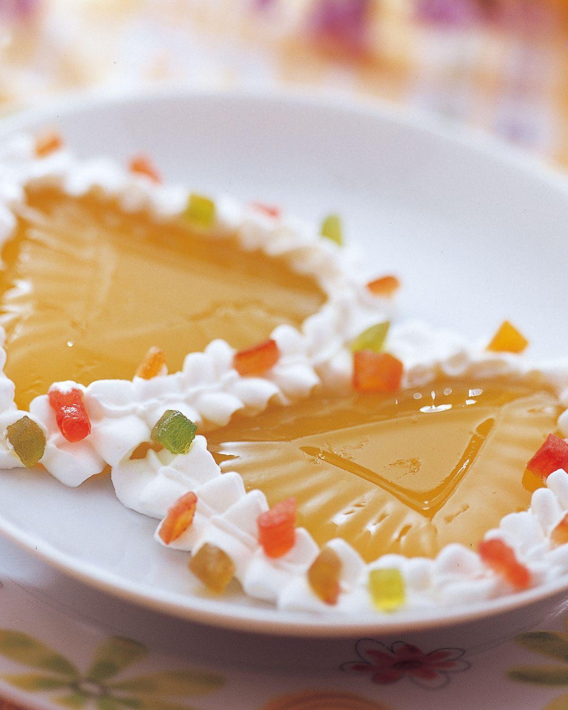 食譜:甜橙果凍