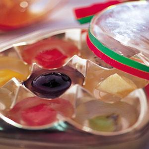 什錦水果果凍