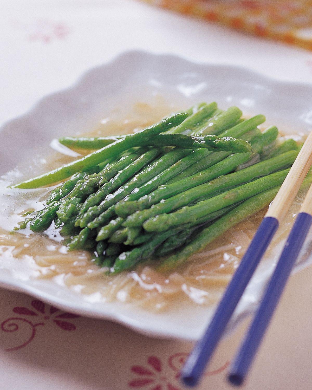 食譜:干貝扒蘆筍