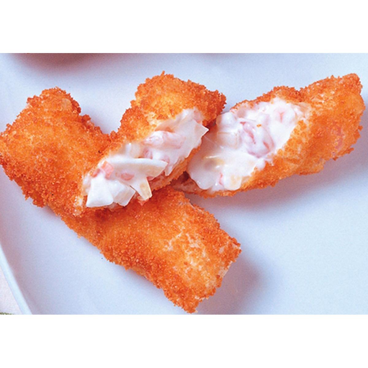 食譜:沙拉蝦捲