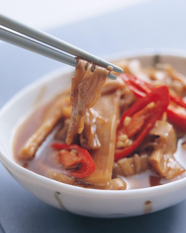 食譜:肉燥香茄煲