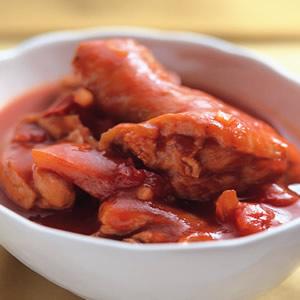 茄醬滷雞腿
