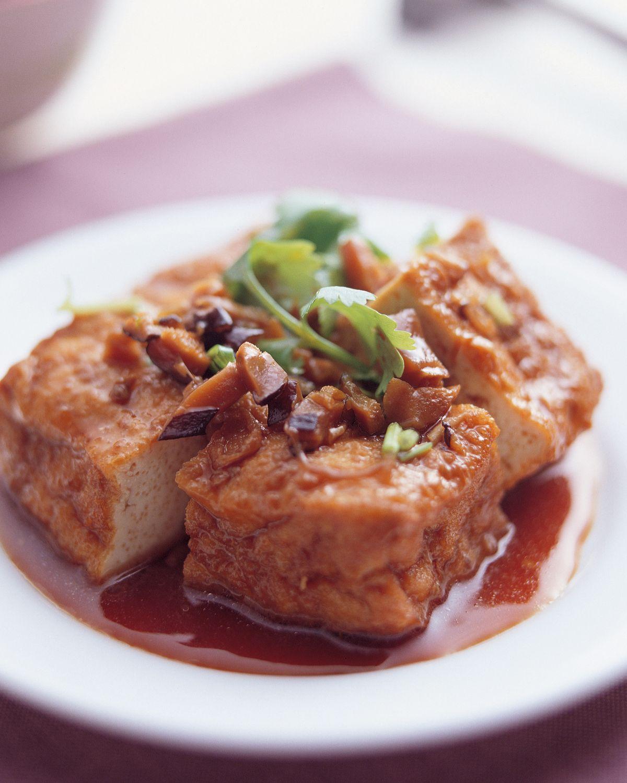 食譜:素香油豆腐