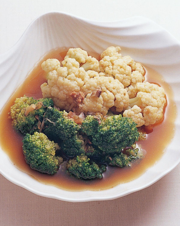 食譜:雙色花菜