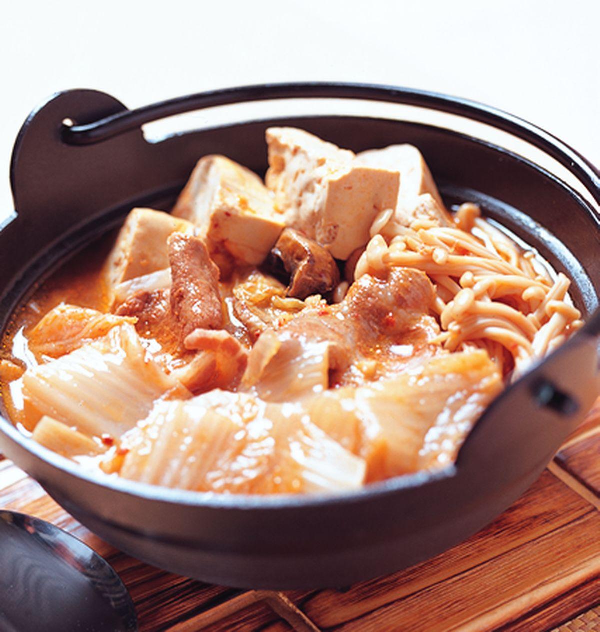 食譜:泡菜鍋