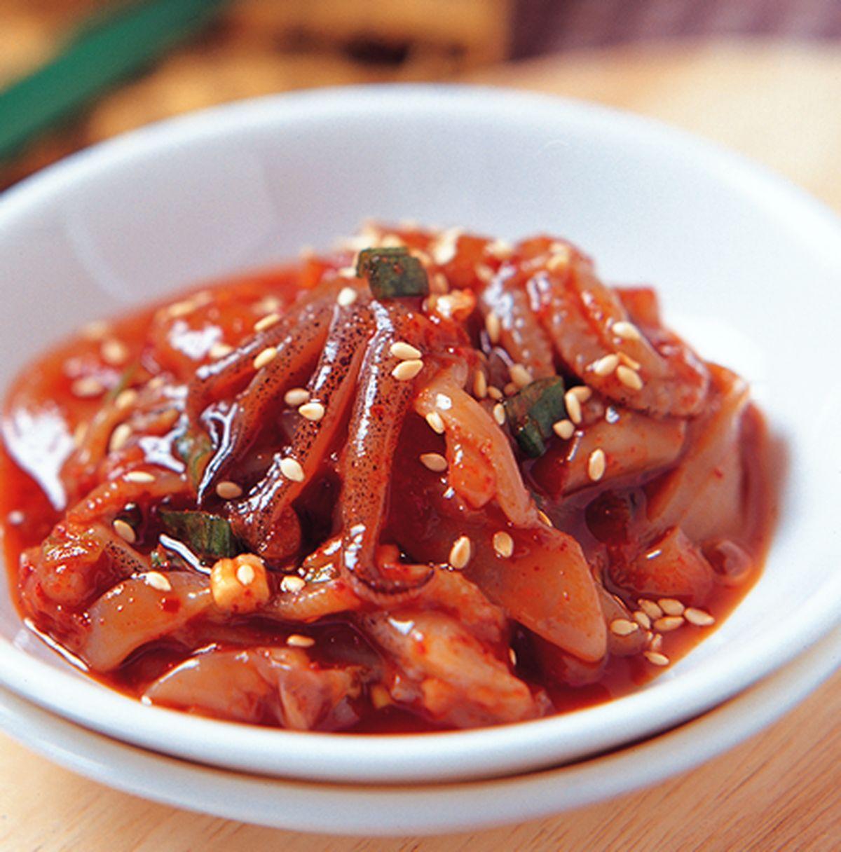 食譜:生醃魷魚