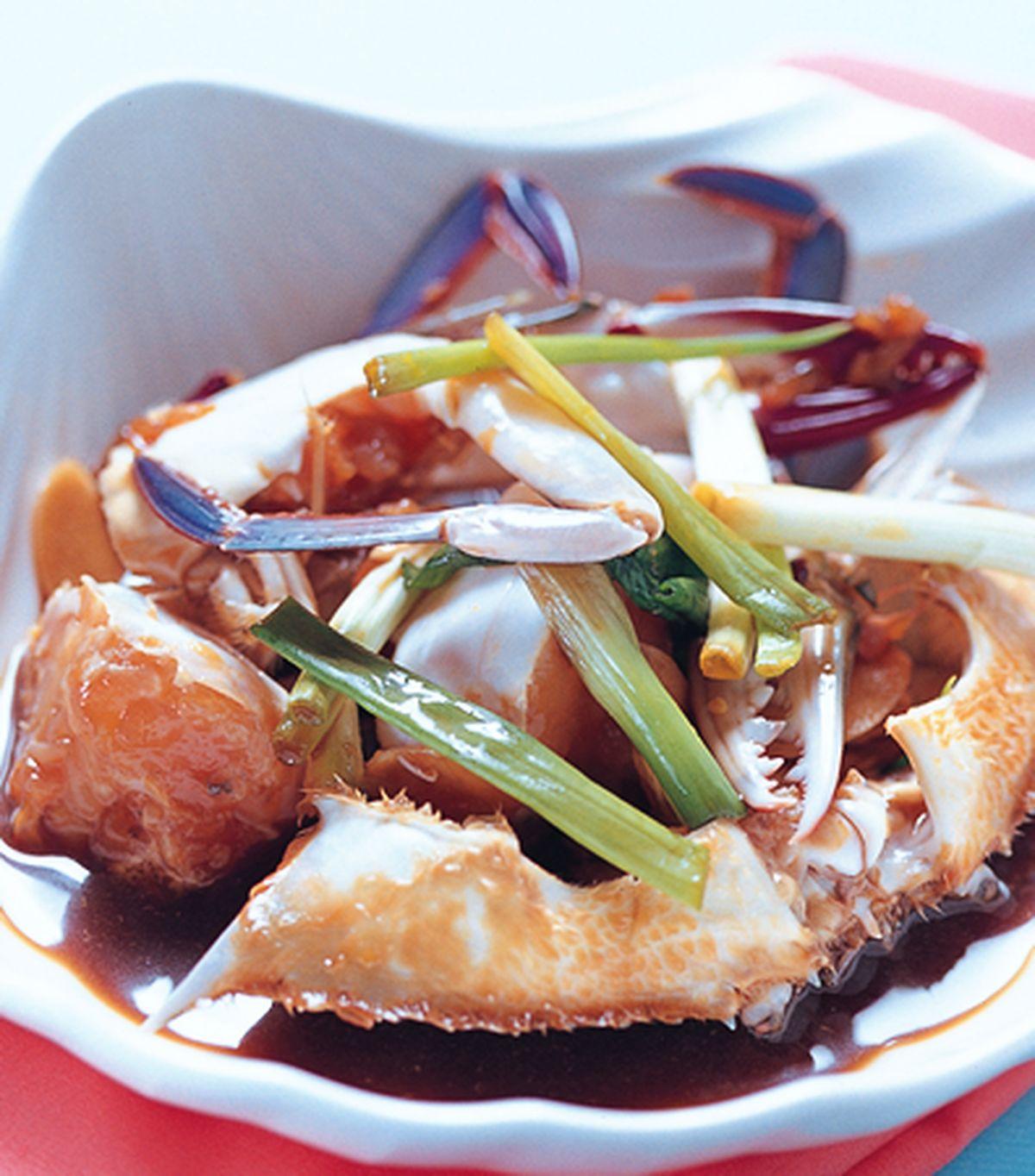 食譜:生醃螃蟹