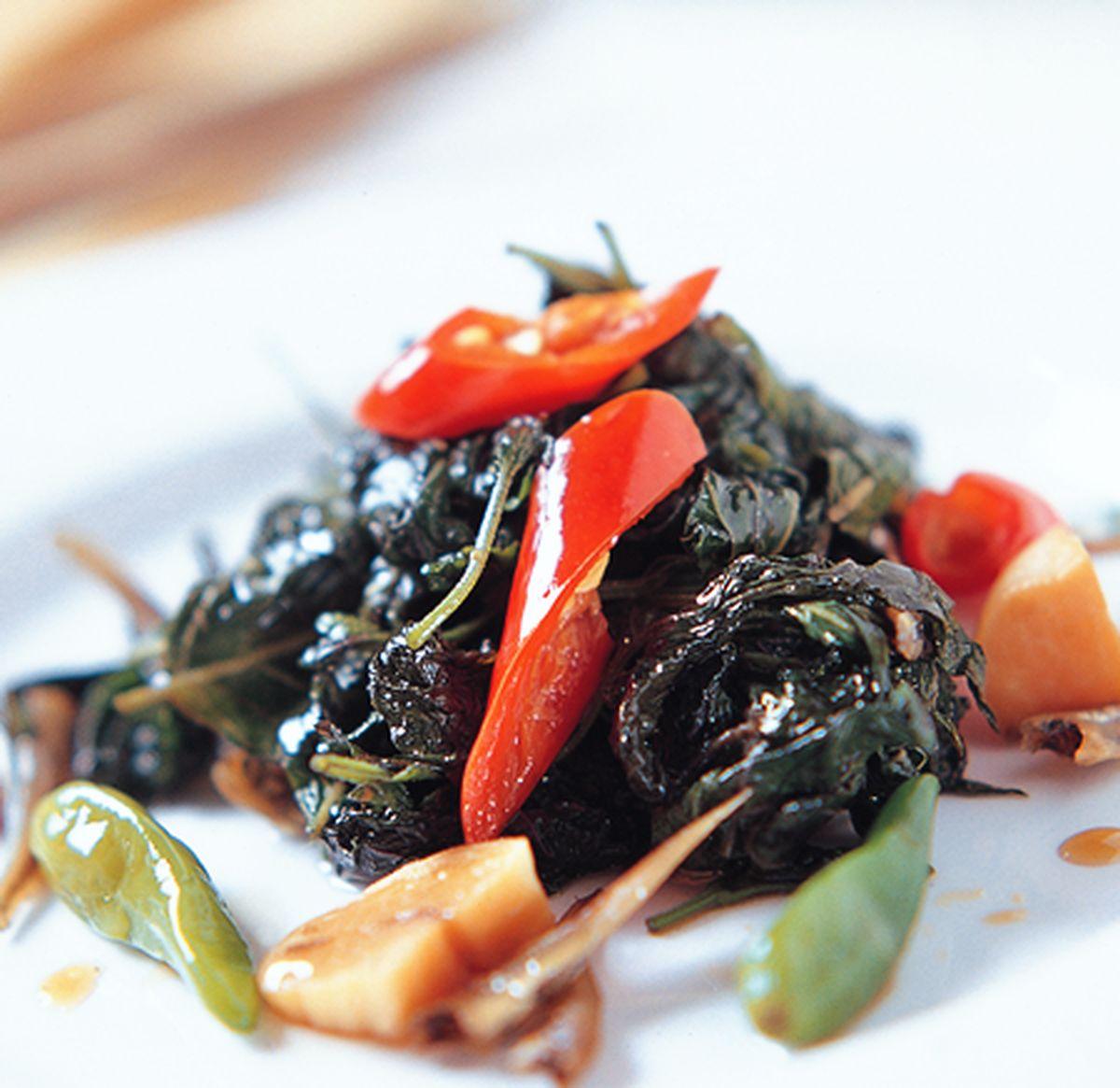食譜:醬煮紫蘇