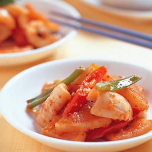 蘿蔔燉魷魚
