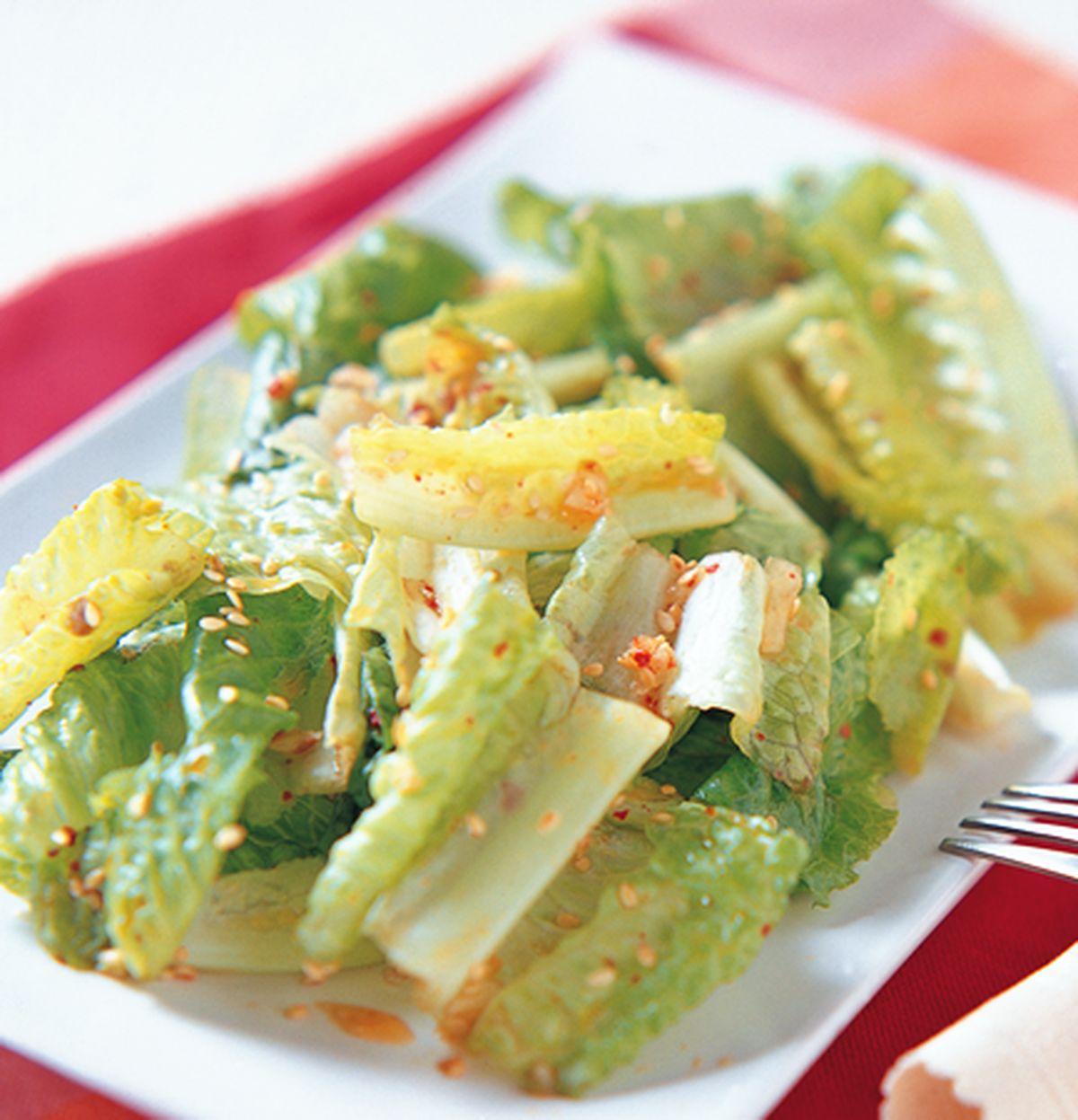 食譜:韓式沙拉