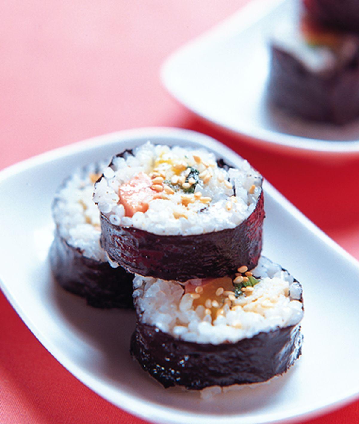 食譜:韓式壽司