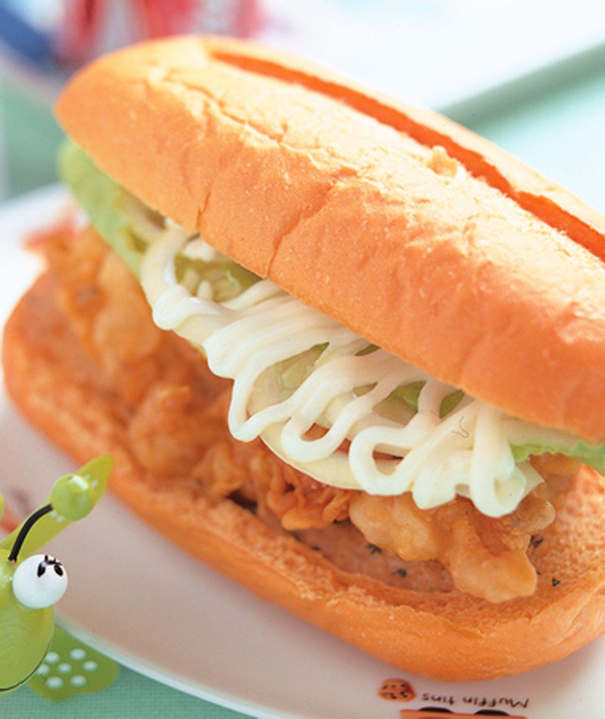 食譜:檸檬雞腿堡