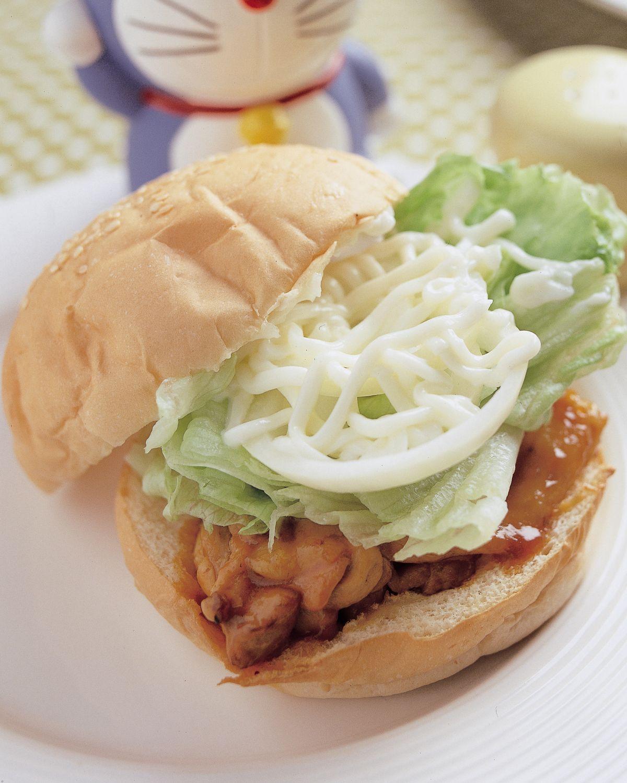 食譜:蜜汁雞堡