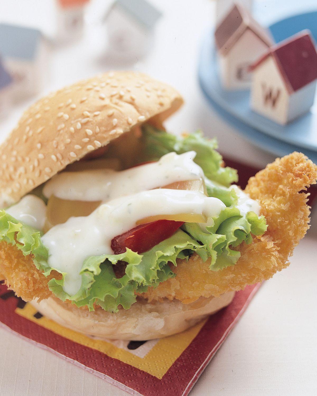 食譜:香雞堡