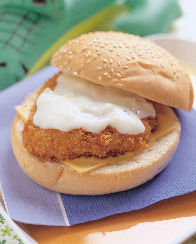食譜:香魚堡