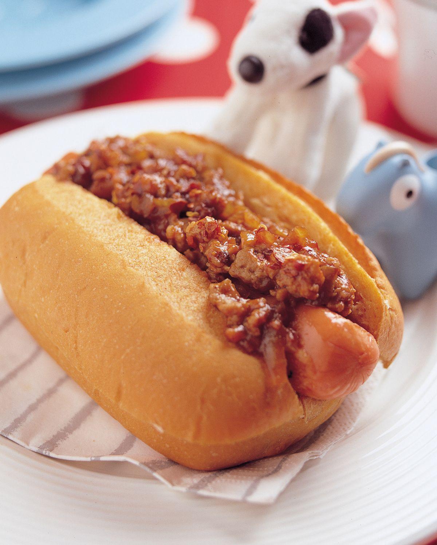 食譜:香辣熱狗堡